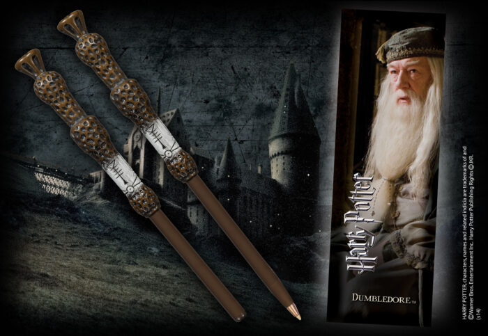Dumbledore Wand Pen & Bookmark