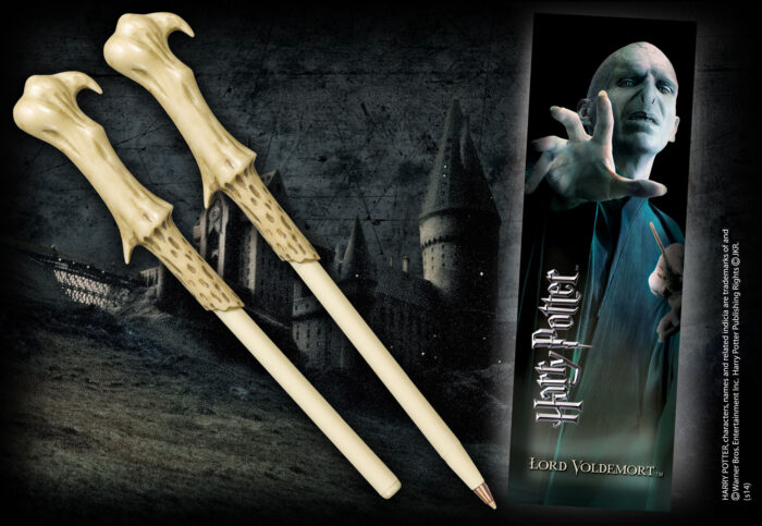 Voldemort Wand Pen and Bookmark
