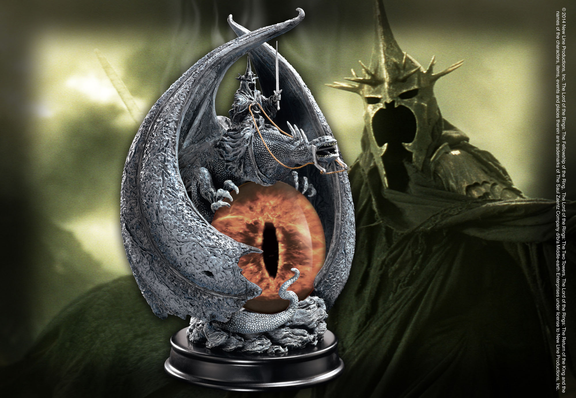 The Fury Of The Witch King Incense Burner The Noble Collection Uk