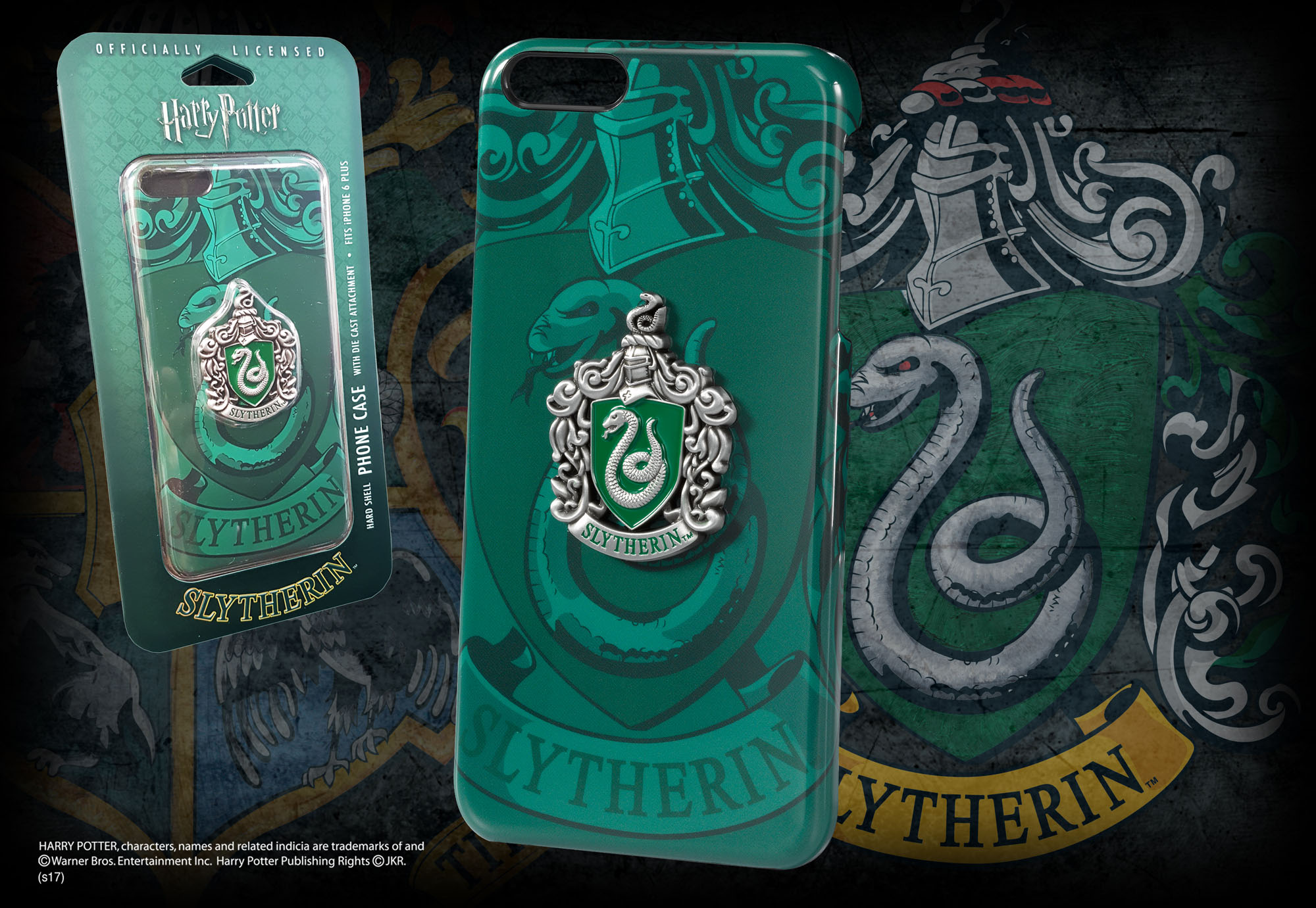 new styles cca53 384f6 Slytherin iPhone 6 Plus Case