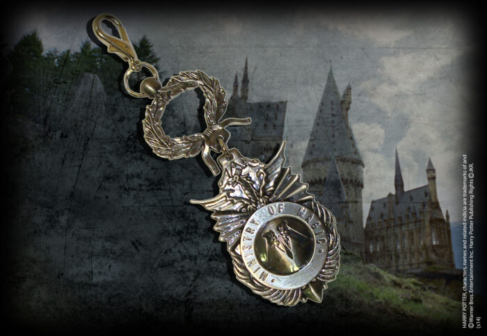 Ministry of Magic Keychain