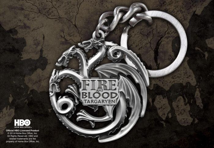 Targaryen Sigil Keychain