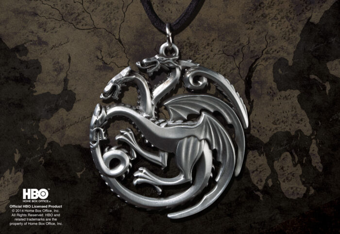 Targaryen Sigil Costume Pendant