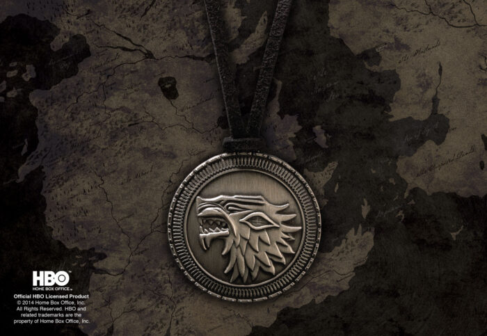 Stark Shield Costume Pendant