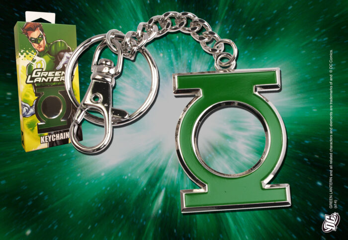 Green Lantern Logo Keychain