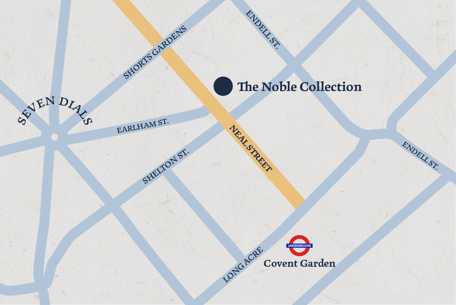 Noble Collection map location