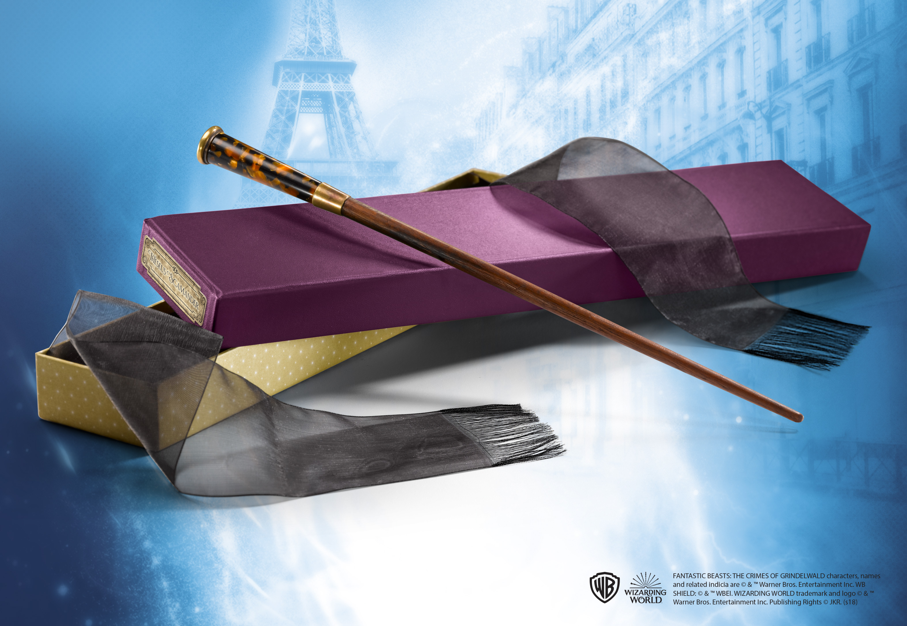 Theseus Scamander's Wand in Collector's Box
