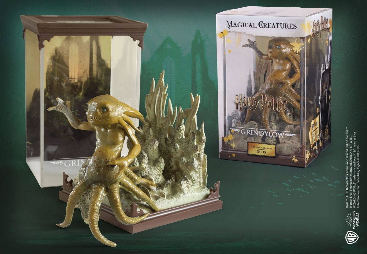Harry Potter Magical Creatures Statue Mandrake 13 cm Noble Collection